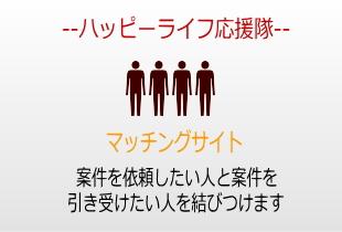 ハッピーライフ応援隊新規会員登録(無料)のイメージ